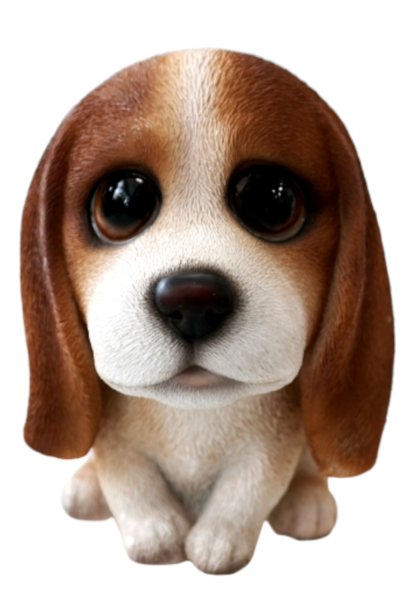 Cartoon Big Eyes Basset