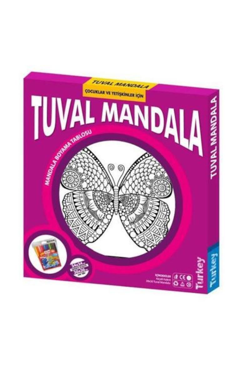 Kumtoys Tuval Mandala 30*30