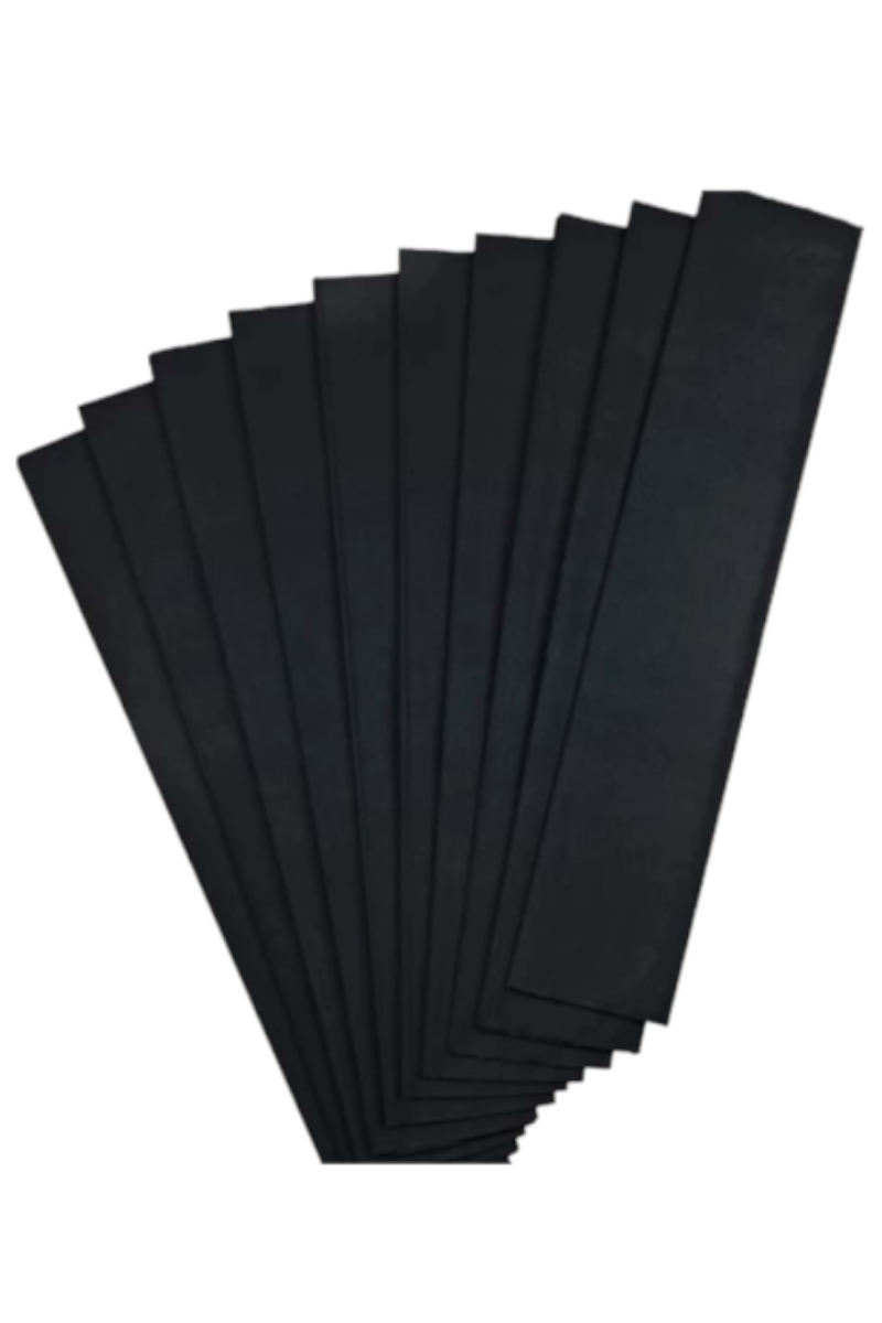 Bu Bu Krapon Kağıdı Tekli Siyah