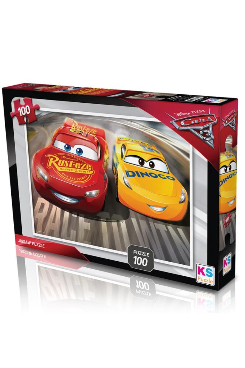 Ks Games Cars Puzzle 100 Parça
