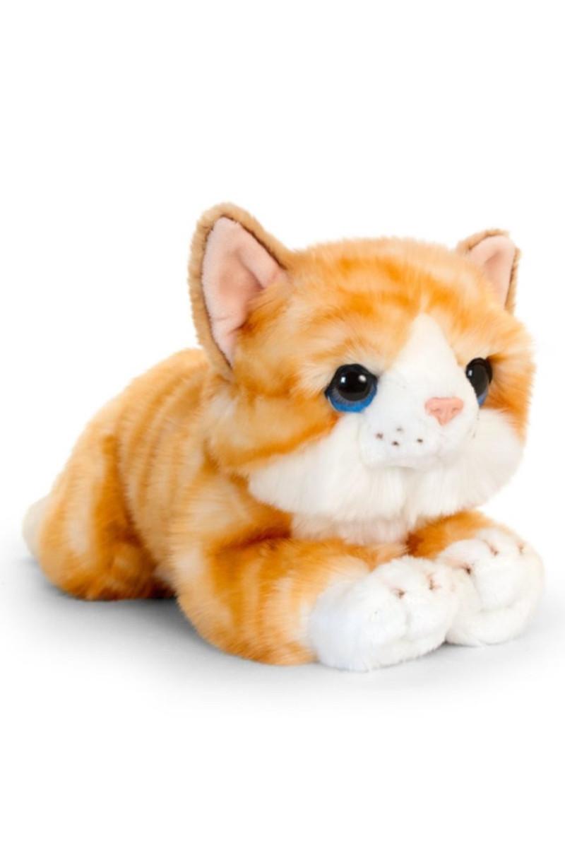 Peluş Kedi Turuncu 27 Cm