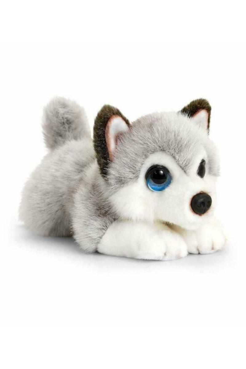 Peluş Köpek Husky 32 Cm