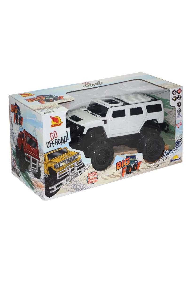 Araba Big Foot Jeep Işıklı 34 Cm 6v Usb