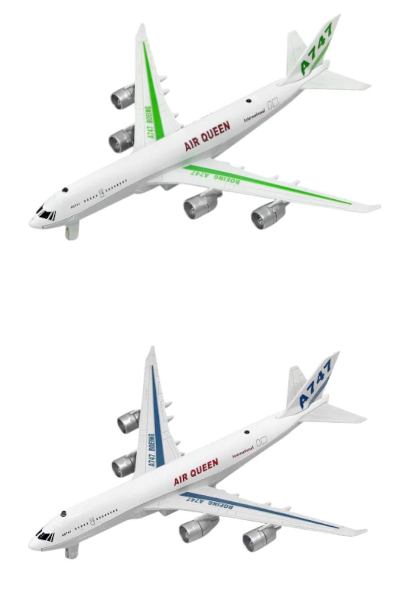 Cb Metal Uçak Sesli Isıklı