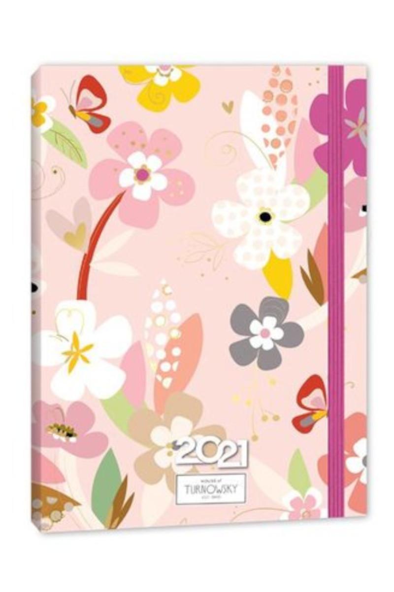 Keskin Color Turnowsky 9x14 Soft Touch Günlük Ajanda - Daphne