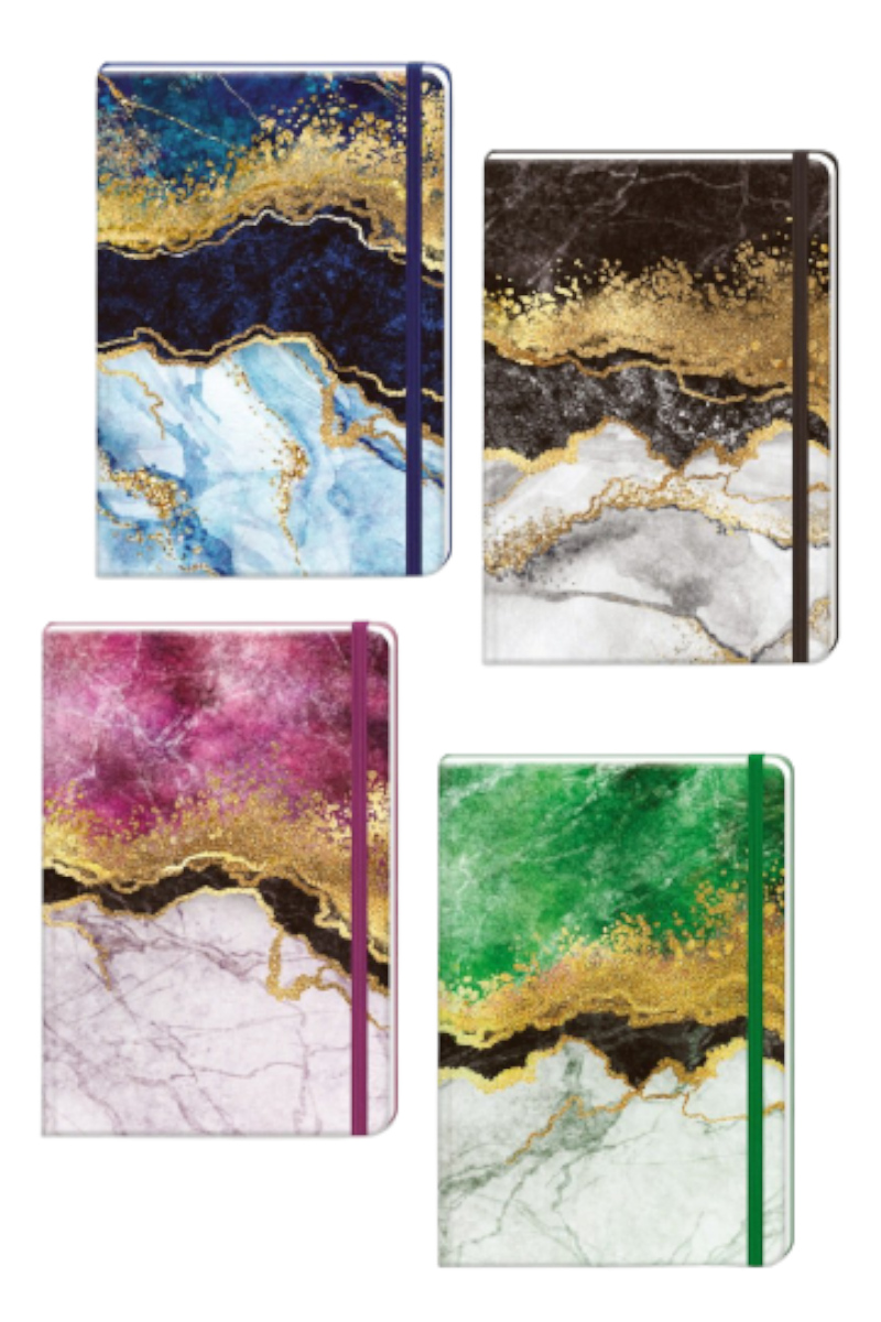 Keskin Color 17x24 96yp Düz Marble Defter