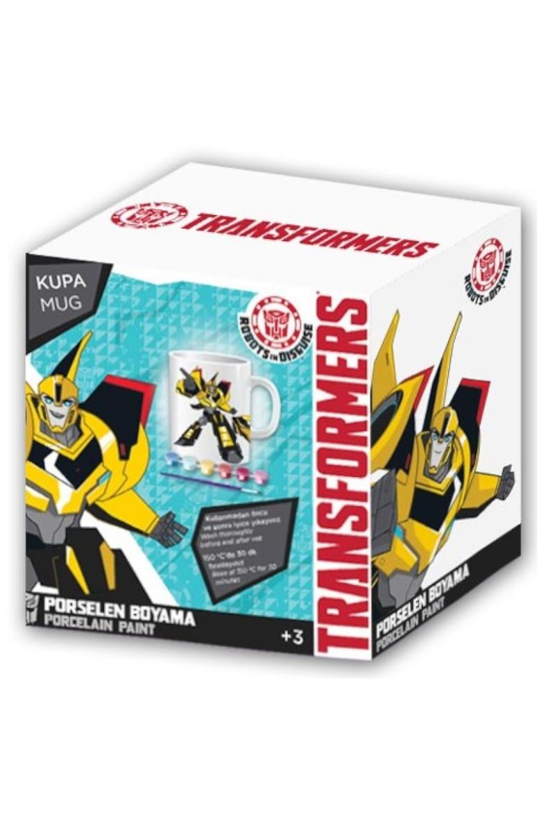 Transformers Porselen Kupa Boyama