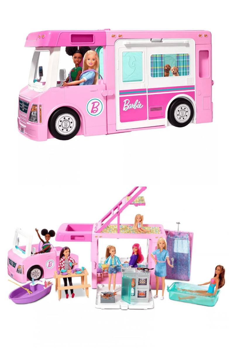 Barbie'nin Üçü Bir Arada Rüya Karavanı