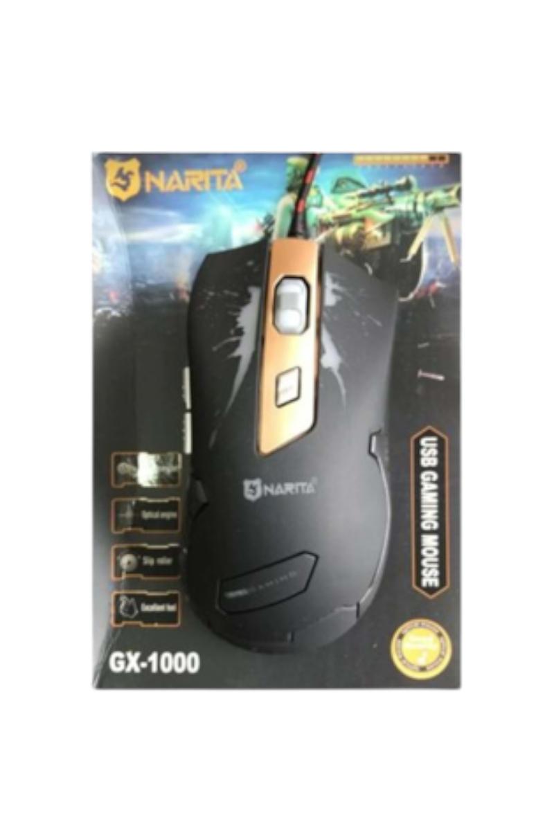 Narita Gx1000 Oyunucu Işıklı Mouse