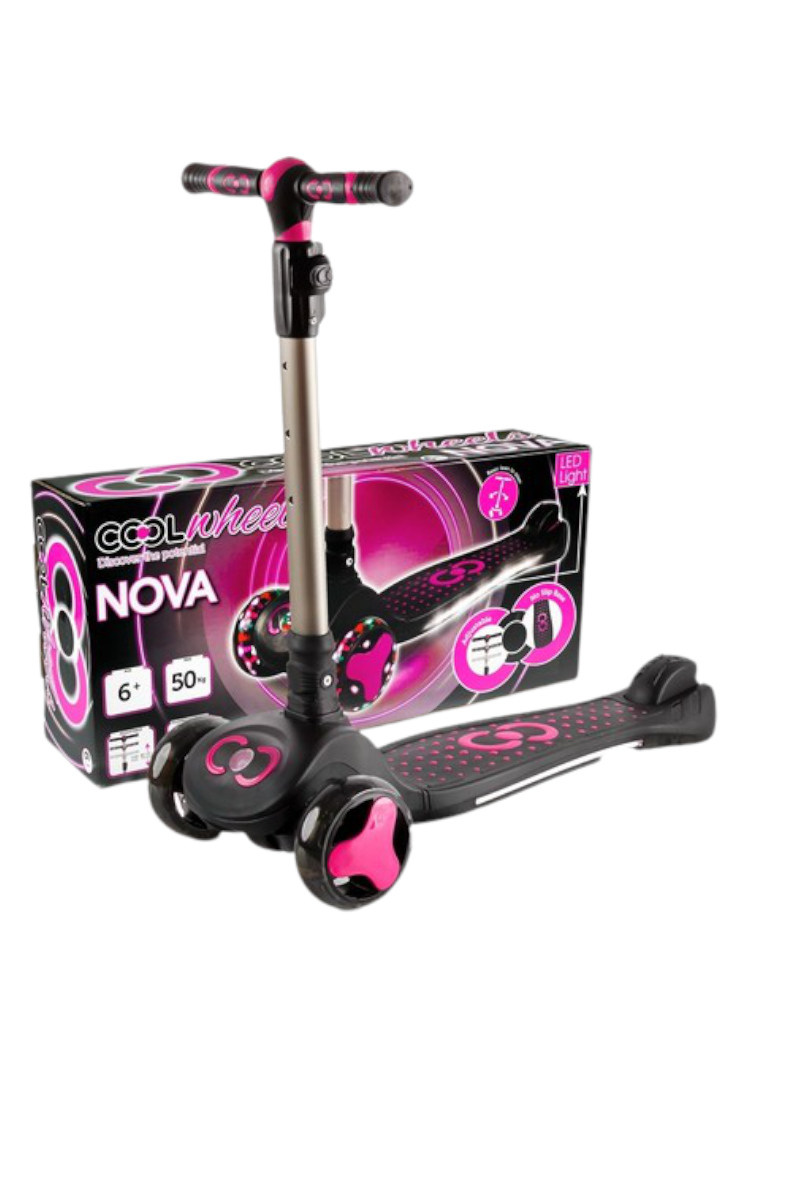 Cool Wheels Nova Scooter Pink