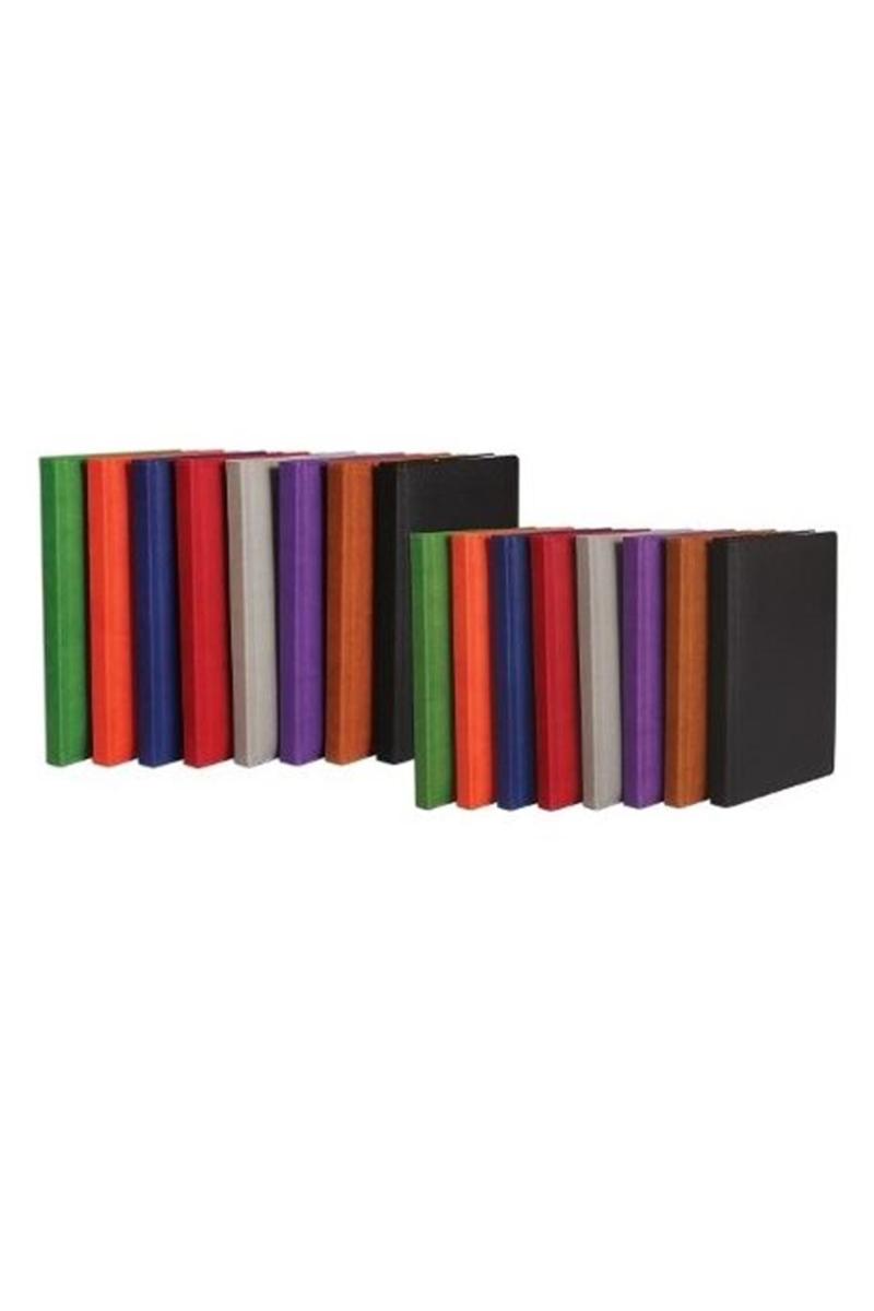 K.Color Termo Deri Defter 14x20 160yp Çizgili