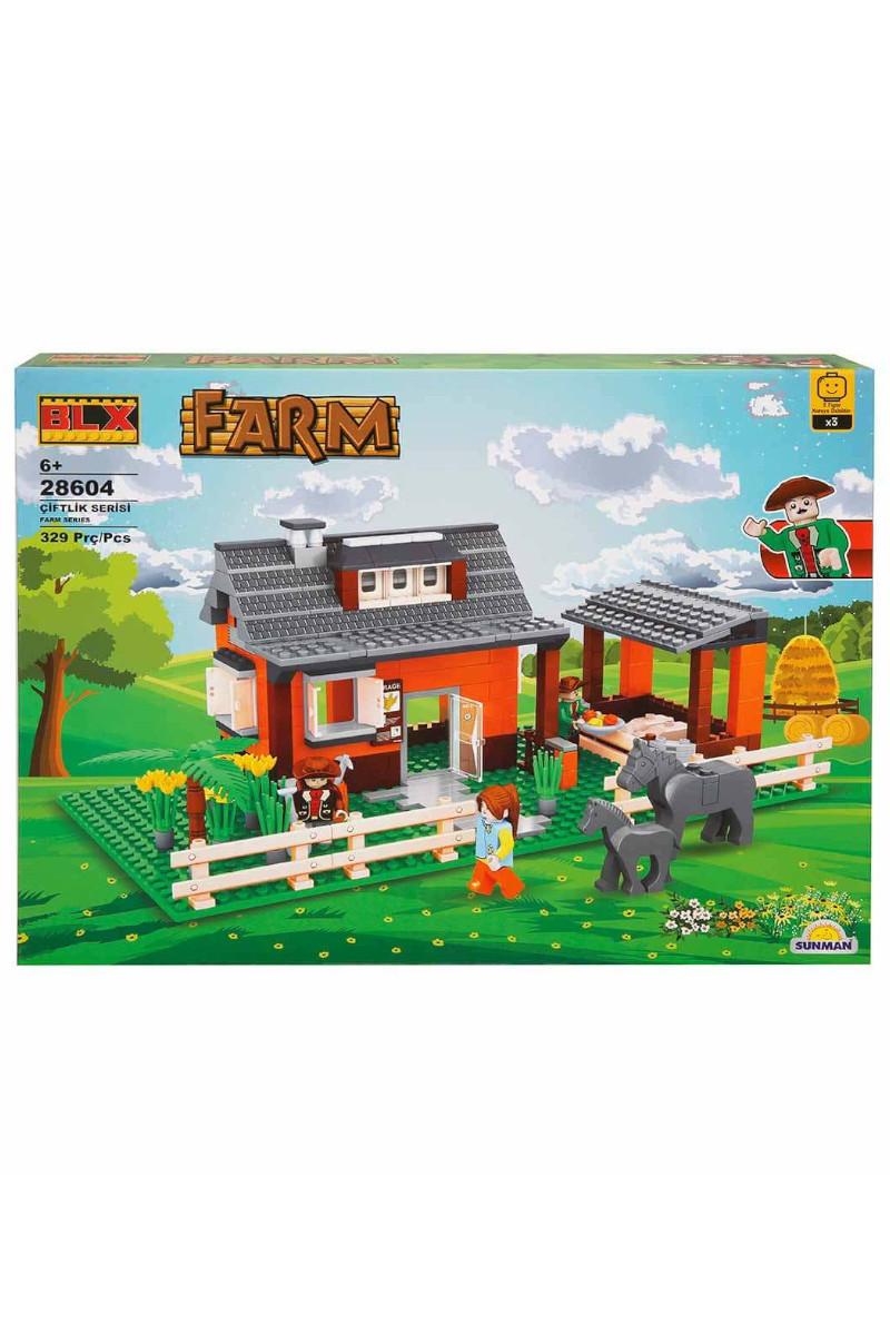 Blx 329 Parça Bahçeli Çiftlik Evi Lego