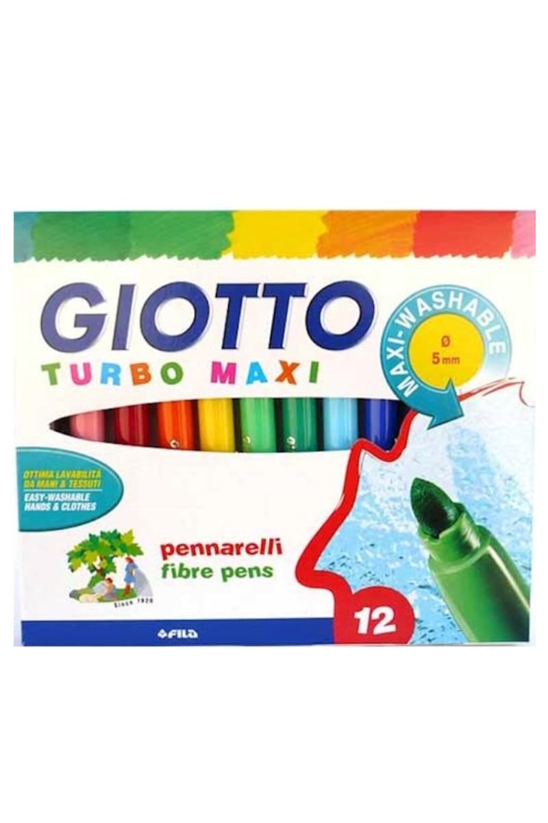 Giotto Turbo Maxi Keçeli Kalem 12'li