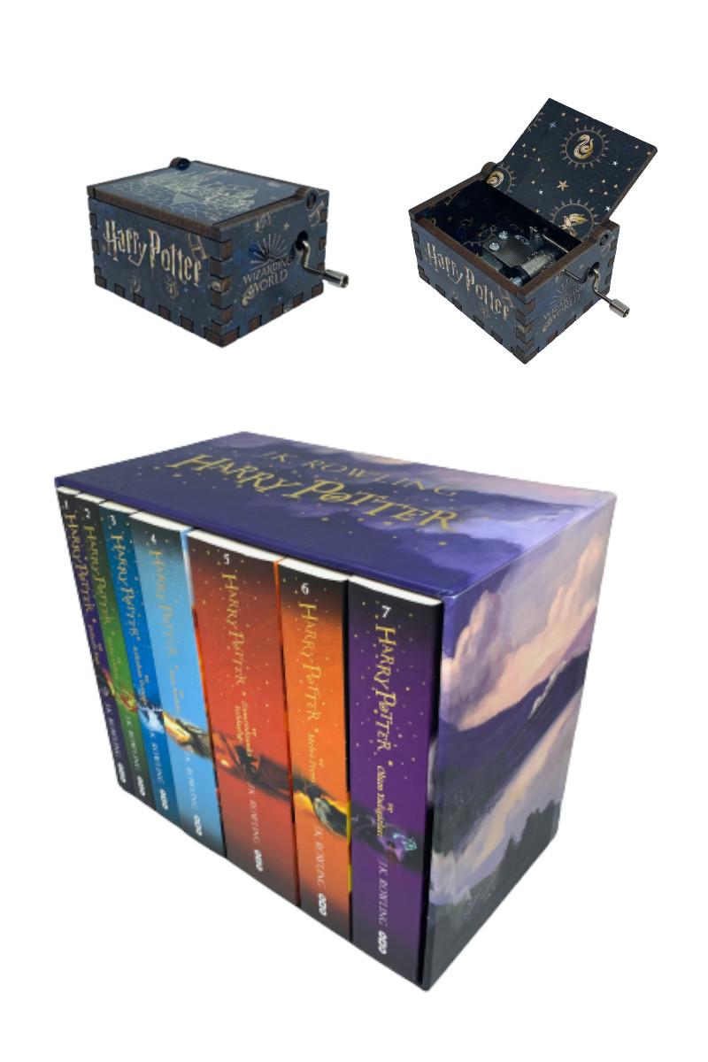 Harry Potter Set (7 Kitap + Müzik Kutusu)