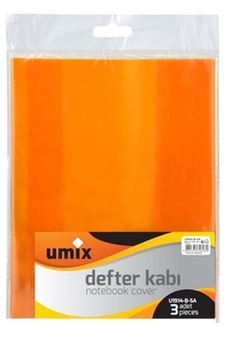 Umix Bantlı Kitap Kabı 3lü Sarı