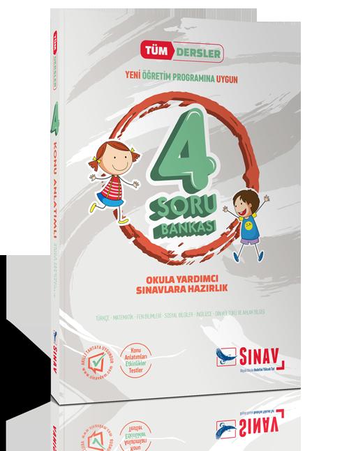 4. Sınıf Sınav Yayınları 4. Sınıf Tüm Dersler Soru BankasıDersler Soru Bankası