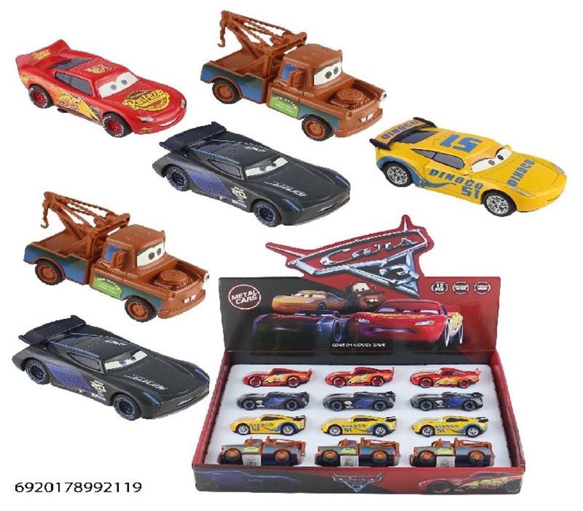 Cars Figürlü Metal Çekbırak Araba Cn1991 / 6920178992119