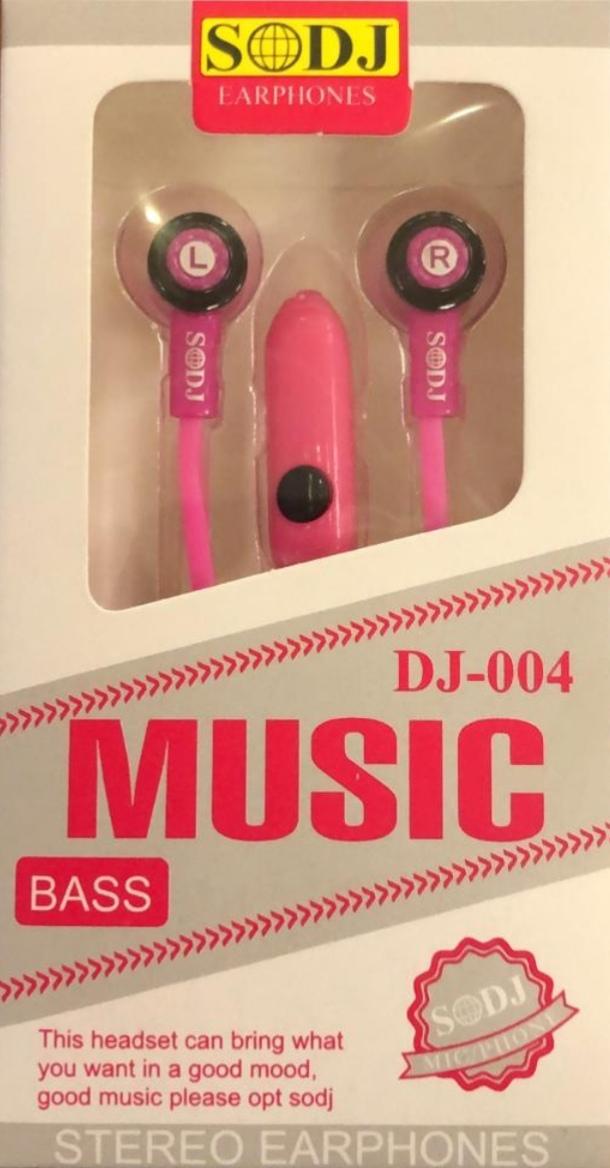 SODJ ERPHONES MUSIC BASS DJ-004