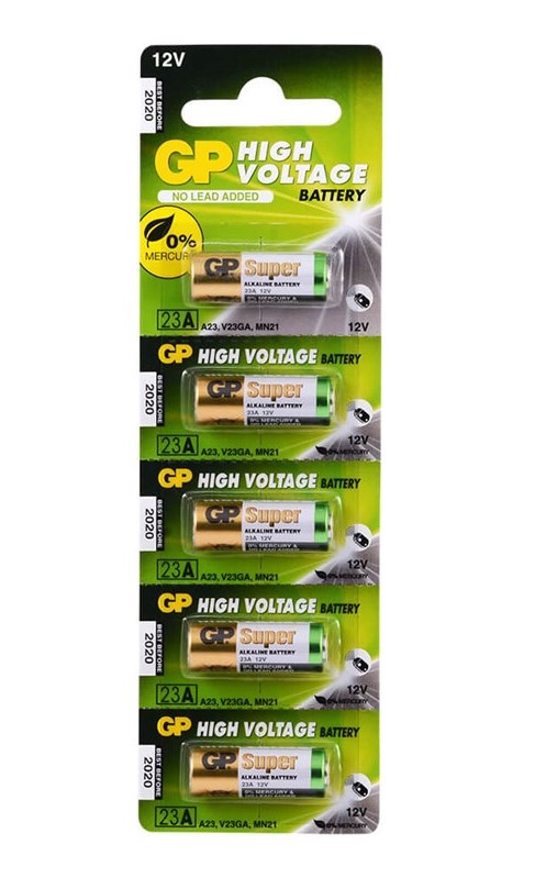 GP HIGH VOLTAGE 12V CAKMAK PILI