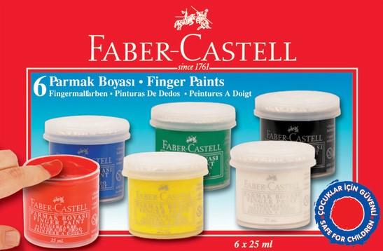 F.CASTELL PARMAK BOYASI 6 RENK