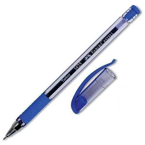 F.Castell Tükenmez Kalem 1425 İğne Uç Mavi