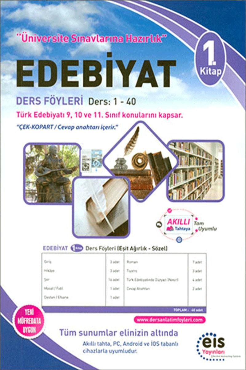 Eis Üniversite Sınavlarına Hazırlık Edebiyat DAF Ders Anlatım Föyleri 1. Kitap 1-40