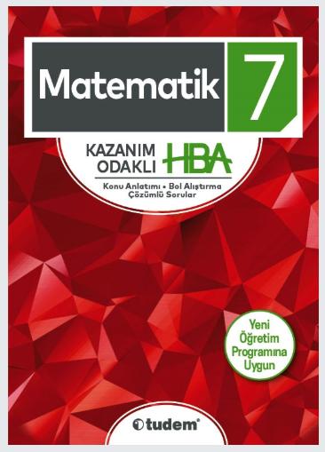 TUDEM 7.Sınıf Matematik Kazanım Odaklı HBA