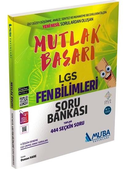Muba Yayınları Mutlak Başarı LGS Fen Bilimleri Soru Bankası