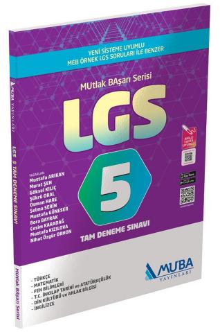 Muba LGS 5 Tam Deneme Sınavı