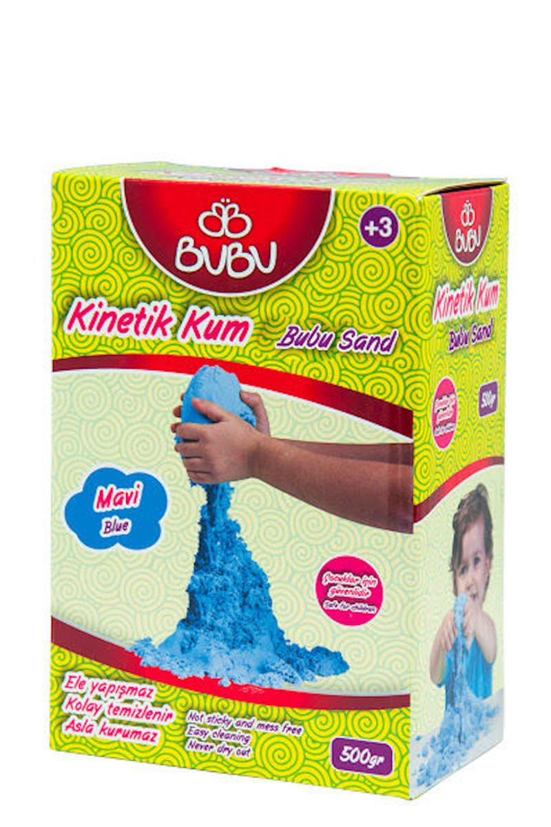 BU-BU Natural Kinetik Kum 500 gr. Mavi