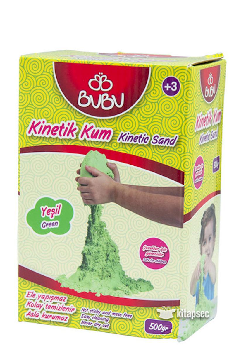 BU-BU Natural Kinetik Kum 500 gr. Yeşil